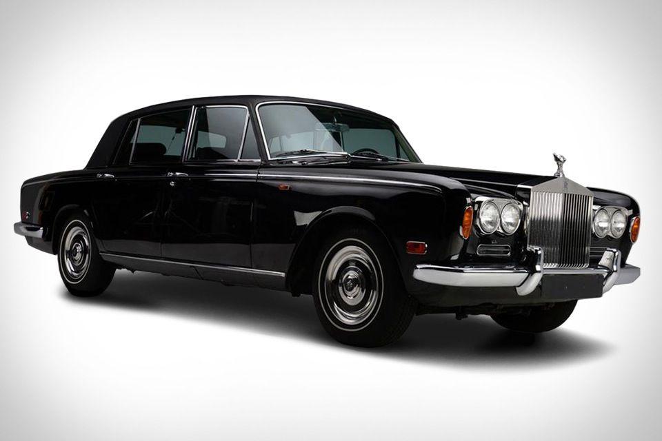 1970 Rolls Royce Silver Shadow de Johnny Cash