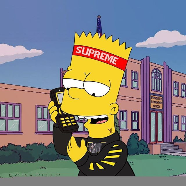 Supreme The Simpsons: Pin By Shak On S I M P S O N S SUPREME