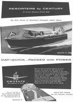 Century Resorter 16 Boat 1956 Ad Picture