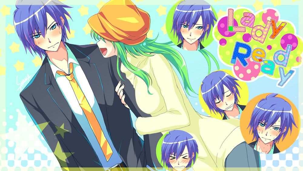 KAITO y Miku Creds by しーな @Pixiv