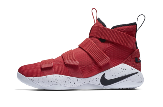 official photos dcf3c 03dd2 Nike LeBron Zoom Soldier 11 University Red Coming Soon