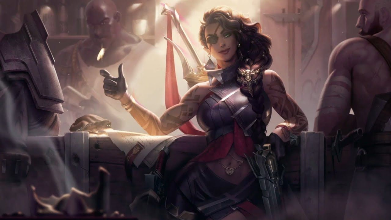 Samira The Desert Rose League Of Legends Live Wallpaper Youtube Legenda