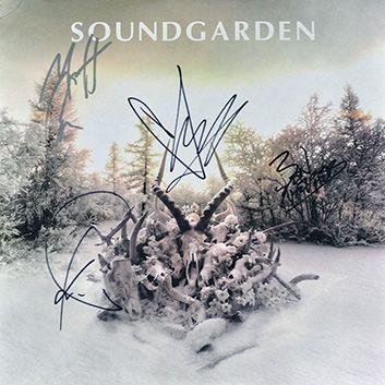 Hand Signed Copy Of King Animal Soundgarden Album Soundgarden