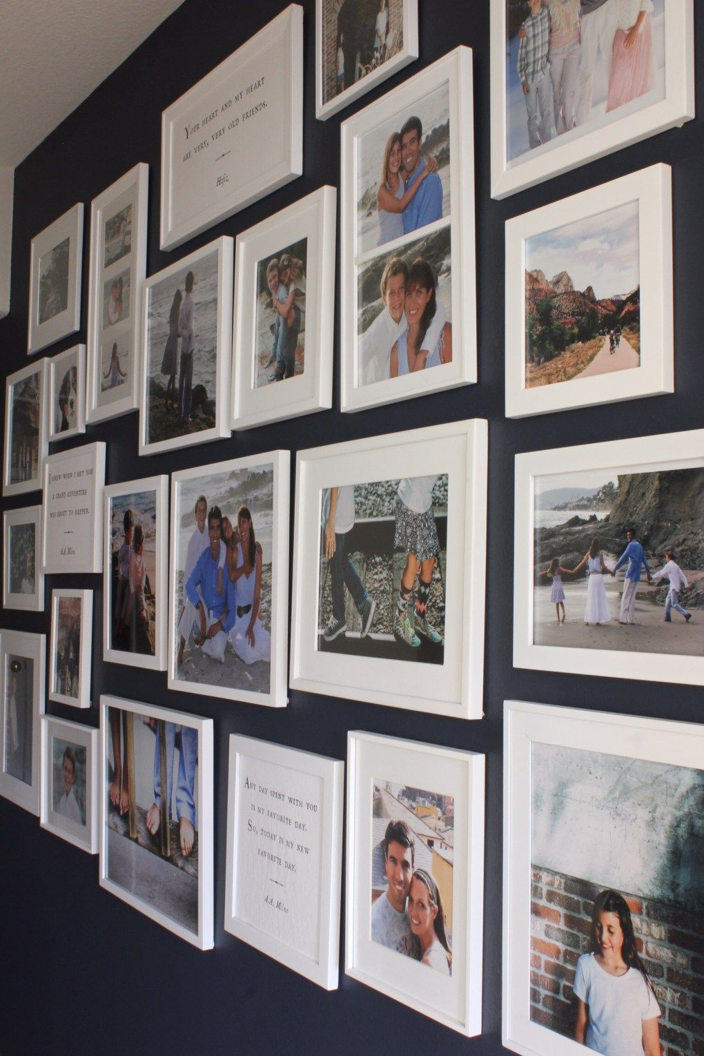Gallery wall update gallery wall wall ideas and walls