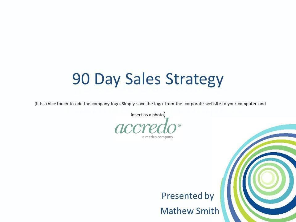 30 60 90 Day Sales Plan Jerred is a pain Pinterest