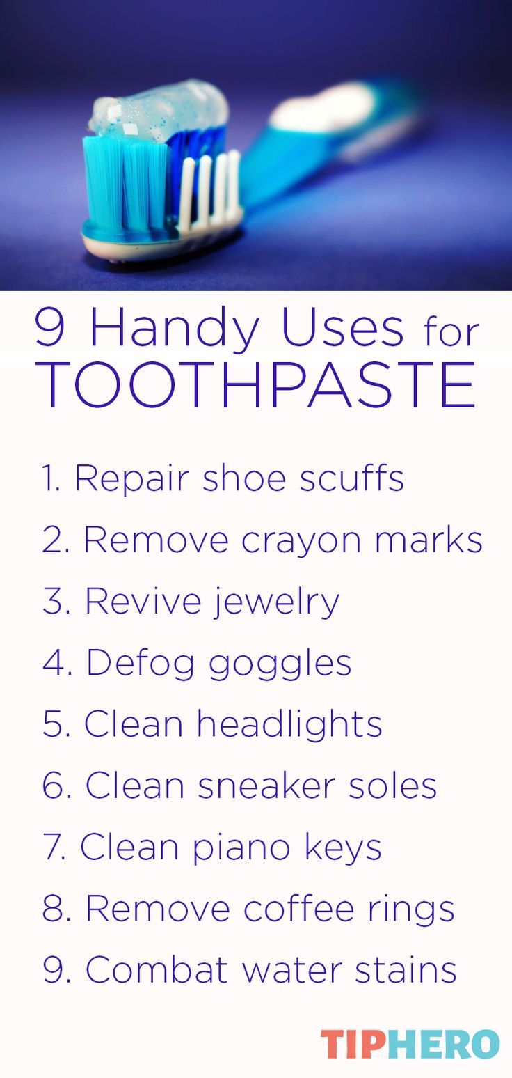 9 ideas for using toothpaste in unconventional ways uses