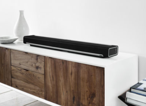 If you are looking for a dynamic sound experience, the Sonos lineup will not disappoint. This speaker system creates a seamless home theatre ambianceand a streaming music experience all at the same time! #katielinendoll