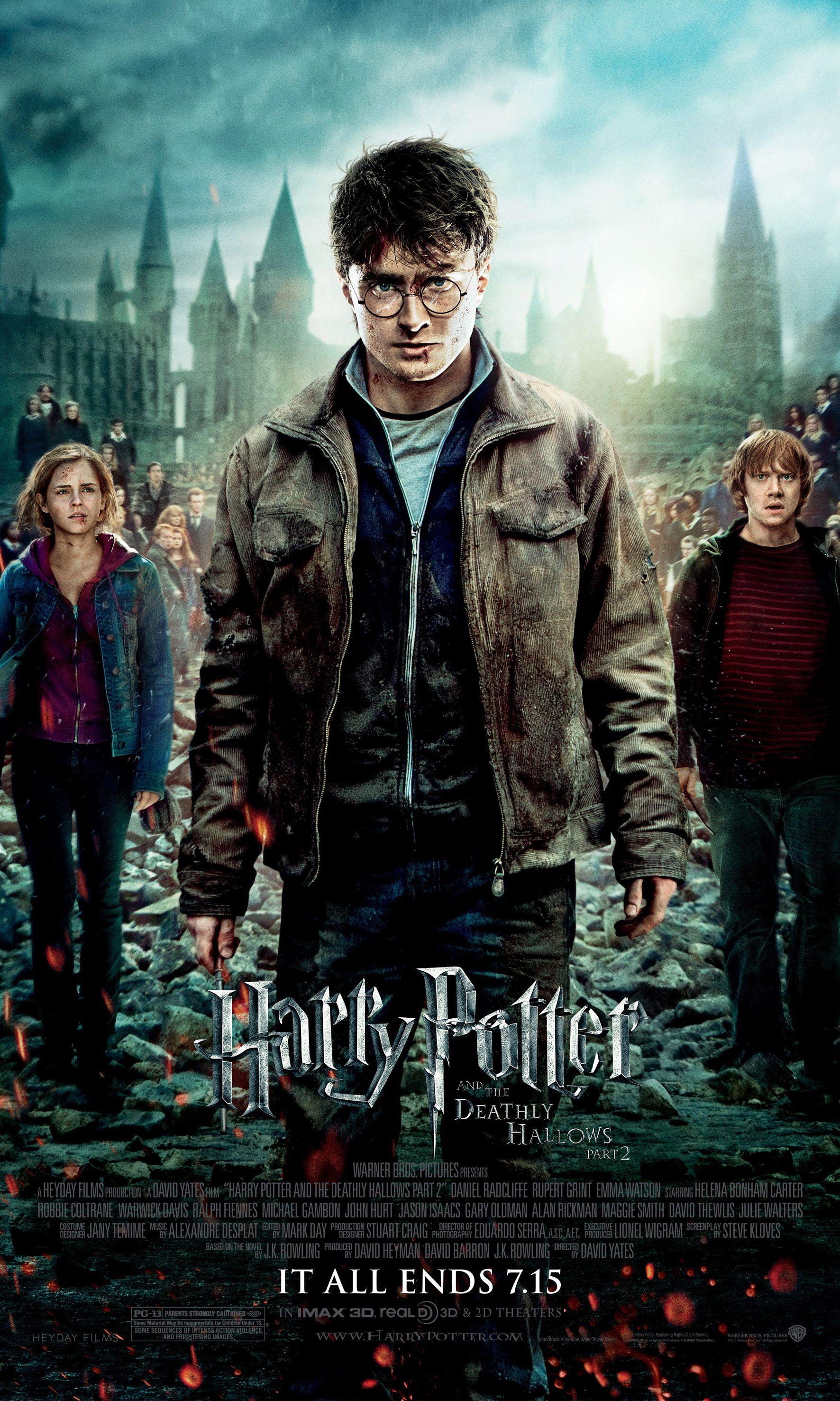 Es Gibt Einen Neuen Harry Potter Film Und An Diesem Datum Erscheint Er Harry Potter Film Harry Potter Poster Heiligtumer Des Todes