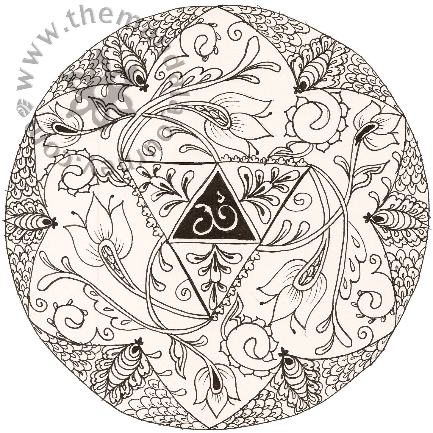 Lotus designs coloring book - Free Hindu Book Do A Whole Book Of Them That People Could