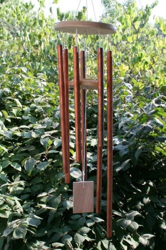 How to make wind chimes using bamboo