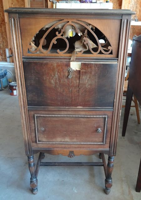 Ordinaire Vintage Radio Cabinet Revamp: Goodwill Always Has Them