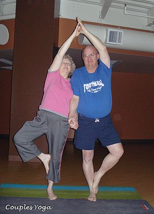 partner yoga tree pose beware next boyfriend