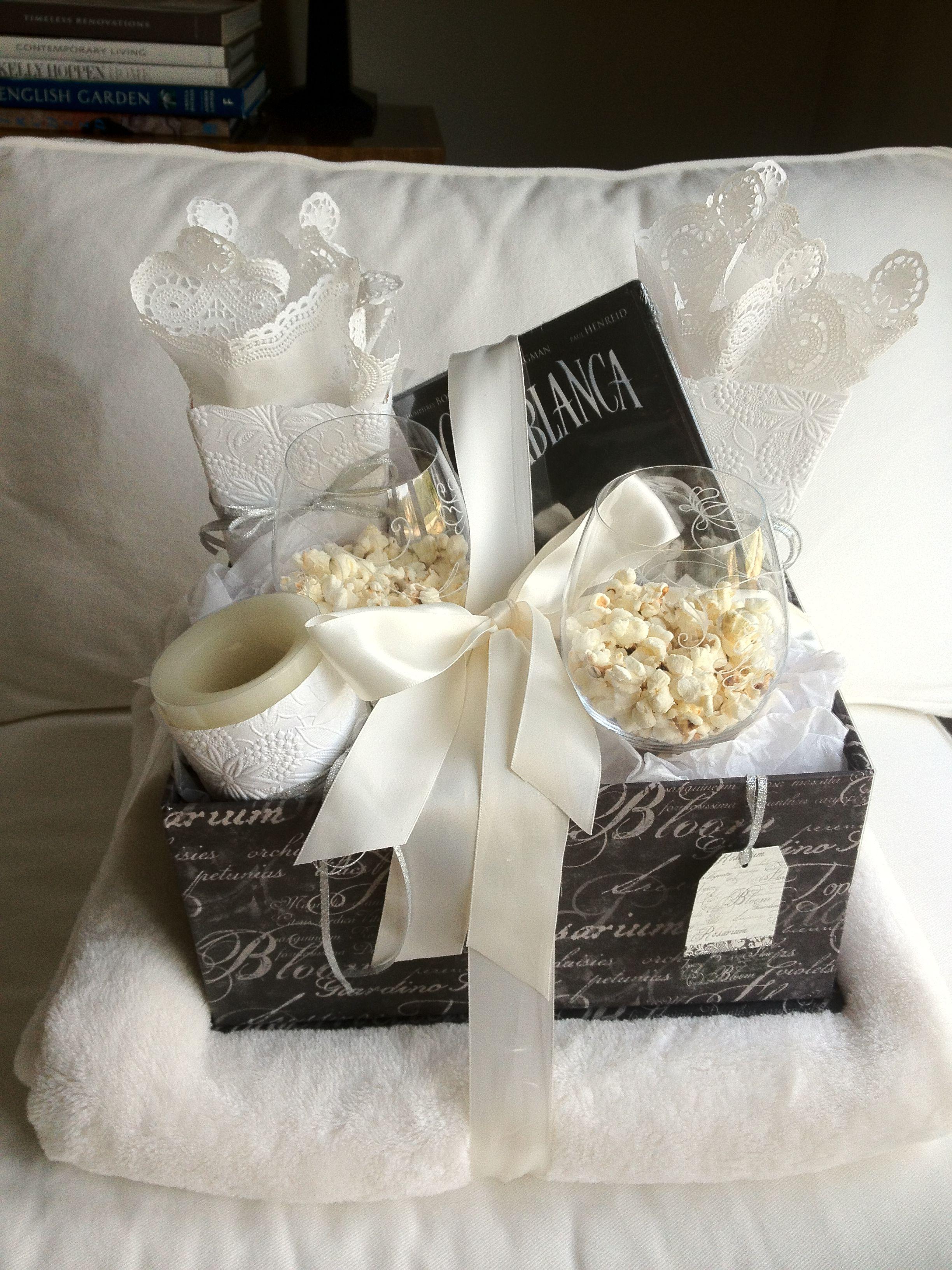 Movie Night Wedding Shower Gift Wedding Shower Gifts And Ideas