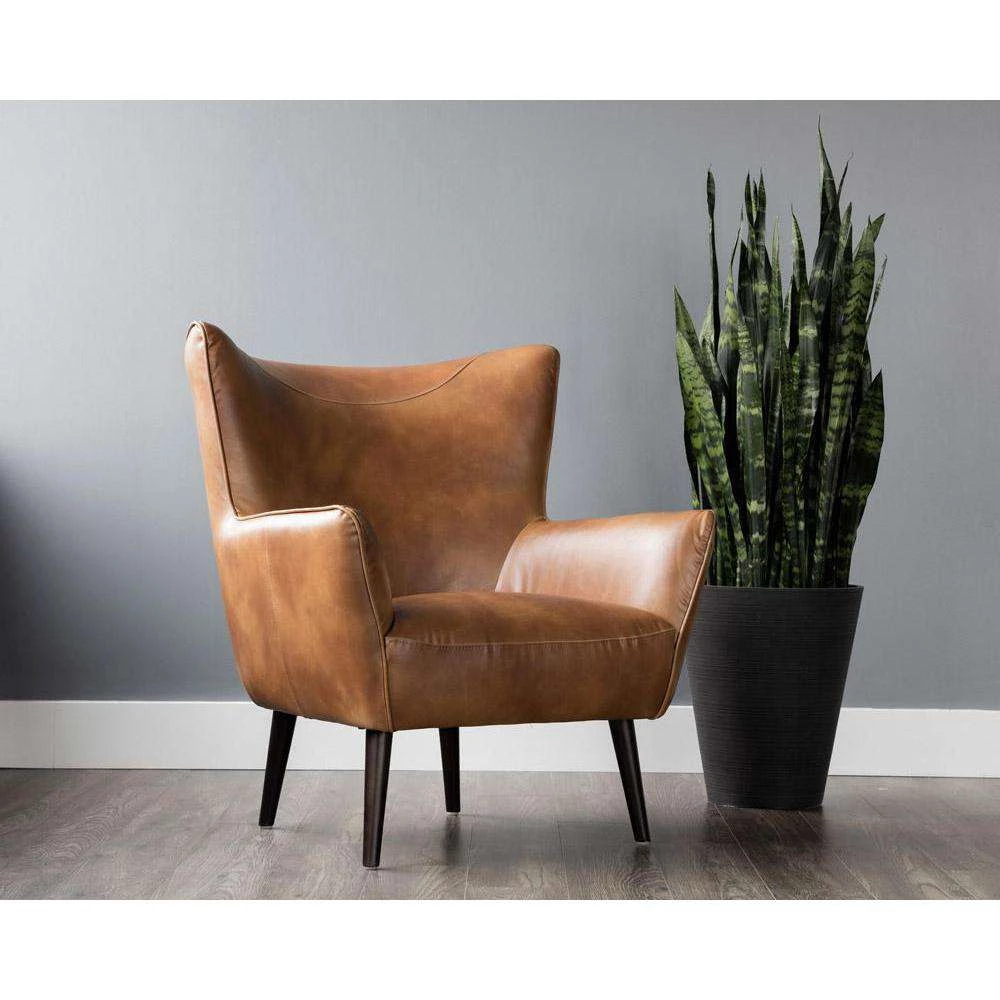 Luther Occasional Chair Tobacco Tan In 2020 Living Room Chairs Occasional Chairs Furniture #occasional #living #room #chairs