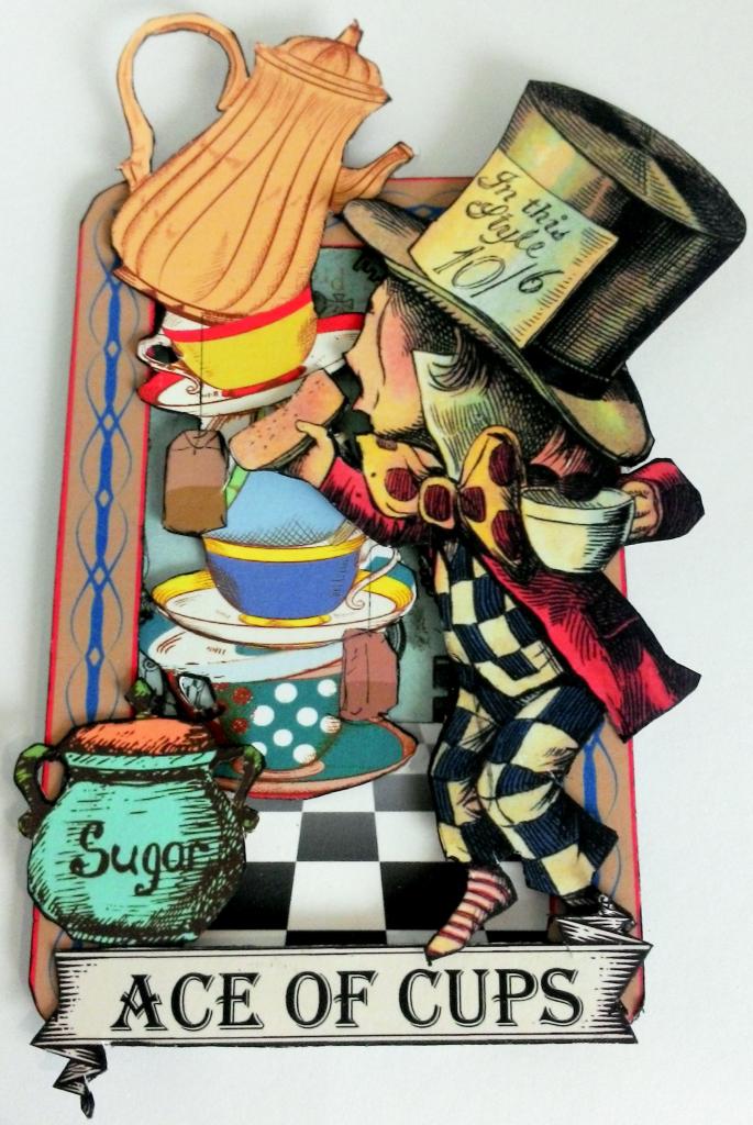 Artfully Musing Alice In Wonderland Tarot Cards