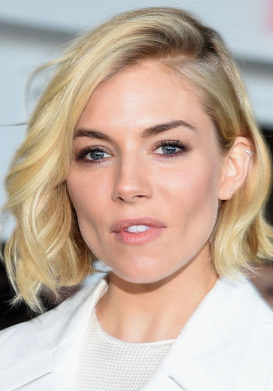 Four Gorgeous Low Maintenance Haircuts Pinterest Sienna Miller