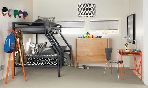 Fort Bunk Beds With Images Bunk Beds Modern Bunk Beds Modern Kids Furniture