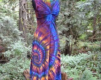 Popular Items For Hippie Clothes On Etsy Tie Dye Wedding Dress Tie Dye Dress Boho Dye Wedding Dress