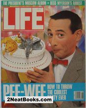 Life Magazine August 1988 : Cover - Pee Wee Herman.
