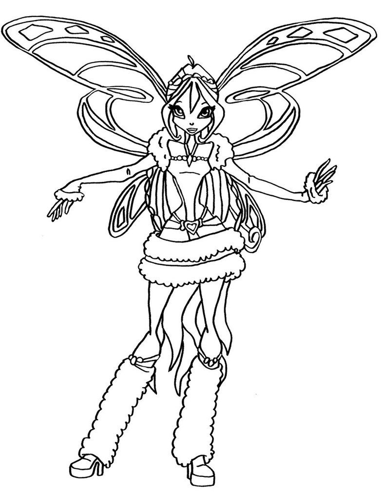 Winx club musa flyrix coloring pages coloriage - Winx Club Coloring Pages Google Search