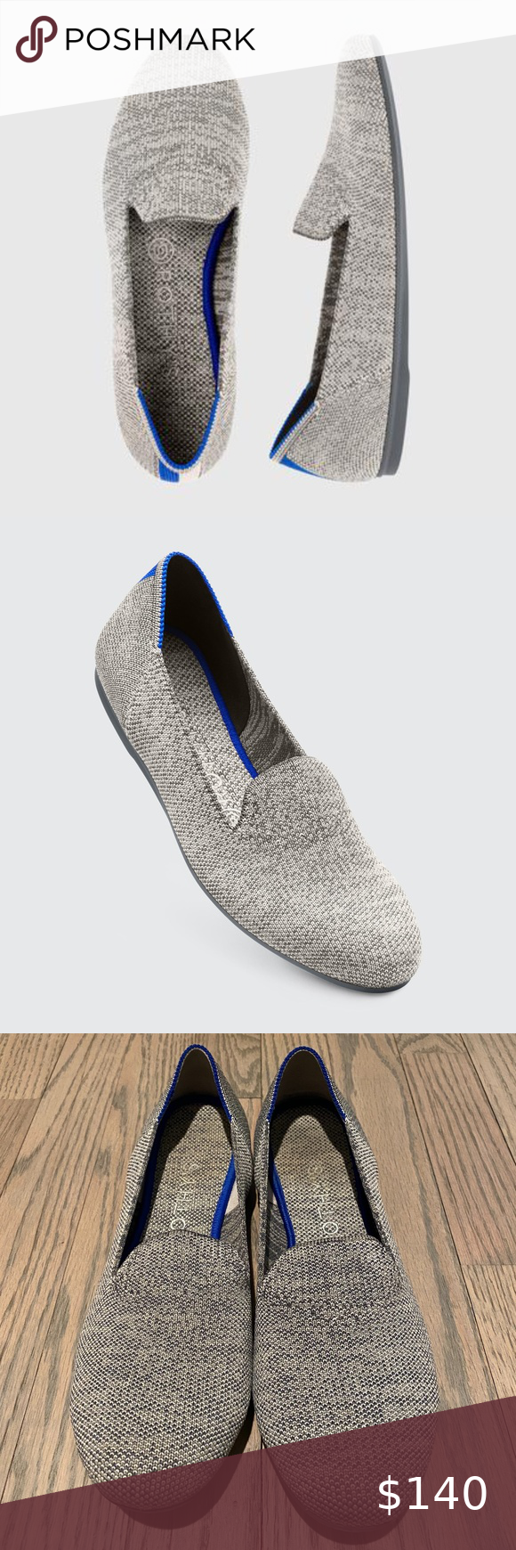 Rothy's Taupe Heather (Gray) Loafers