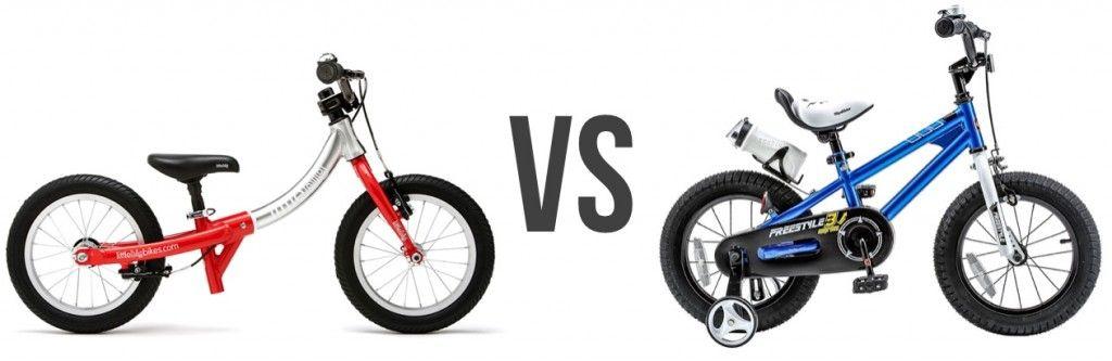 Balance Bike Or Kids Bike With Stabilisers Training Wheels Which