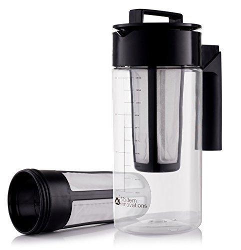 modern innovations 40 ounce cold brew coffee maker bpa free u0026 dishwasher safe tritan acrylic