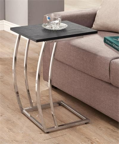 Coaster Furniture Chandi Black Snack Table #snacktable