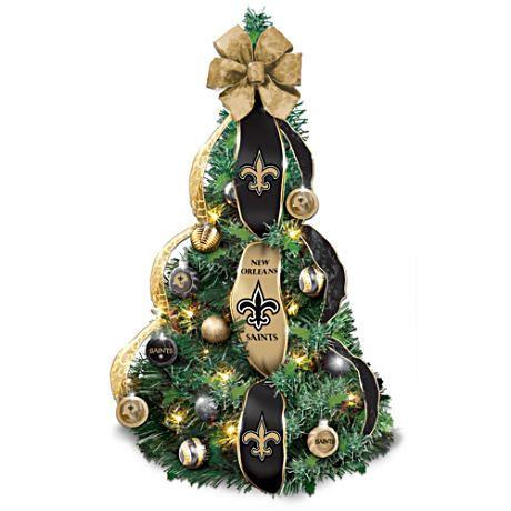 New Orleans Saints Pre Lit Pull Up Christmas Tree Saints Nfl Pre Lit Christmas Tree Christmas Thoughts Christmas Tree Themes