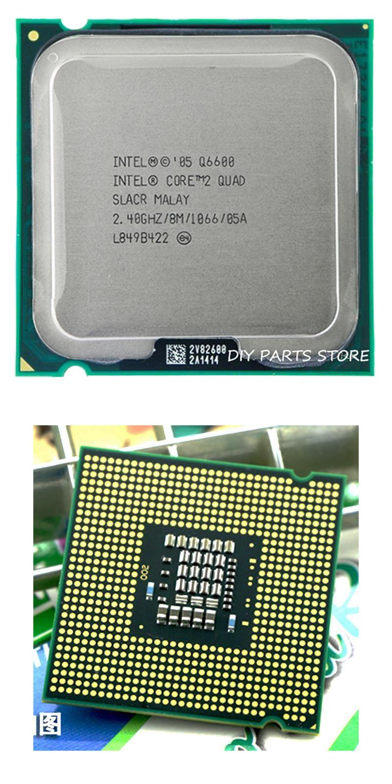 Visit To Buy 4 Core Intel 2 Quad Q6600 Cpu Processor 24ghz 8