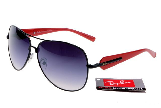 b06d0063c64 Ray-Ban Active Lifestyle 580 Red Black Frame Gray Lens RB83  RB044  -   22.68   Top Ray-Ban® And Oakley® Sunglasses Online Sale Store- Save Up To  80% Off