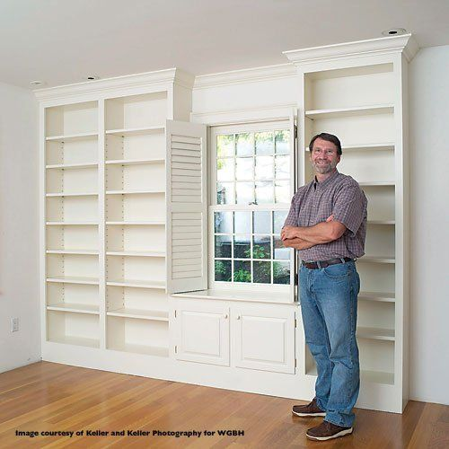Norm On Nyw Explaining How To Make Built In Wall Unit I So Miss His Program