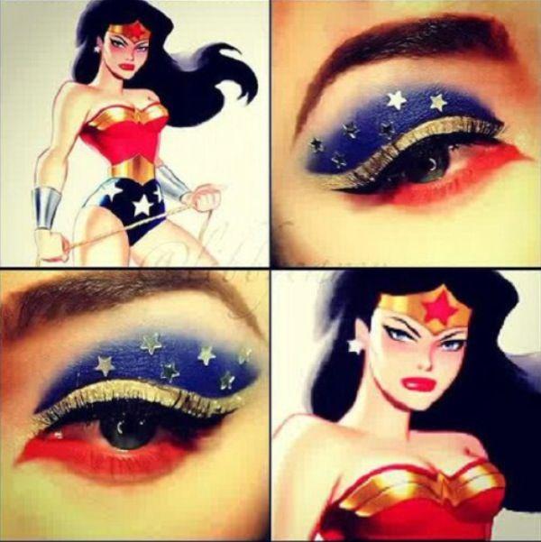 Wonder Woman Wonder Woman Makeup Superhero Makeup Batman Makeup