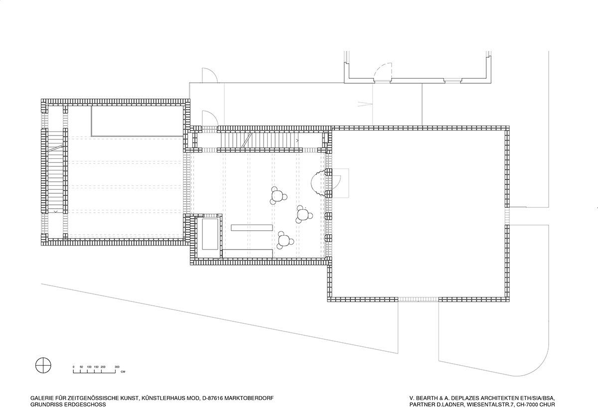 bearth-deplazes   The space is in the plan   Pinterest