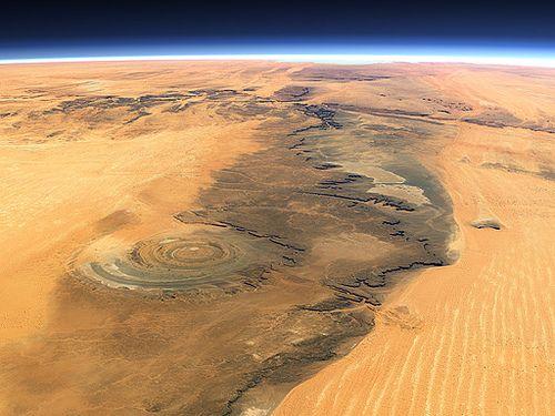 Richat Structure, Oudane, Mauritania