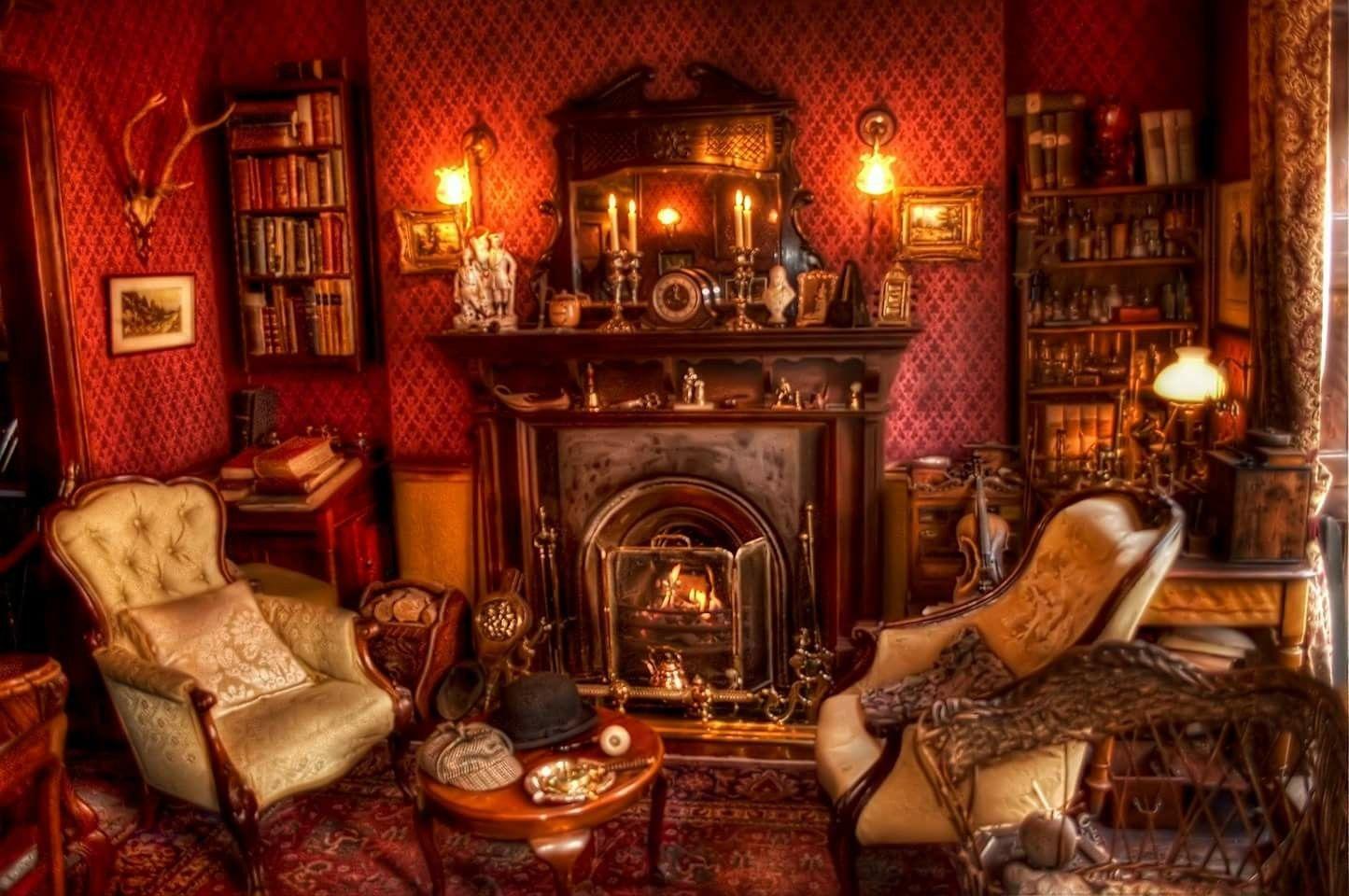 Pin von Carol Hanley auf Victorian interior pictures | Pinterest