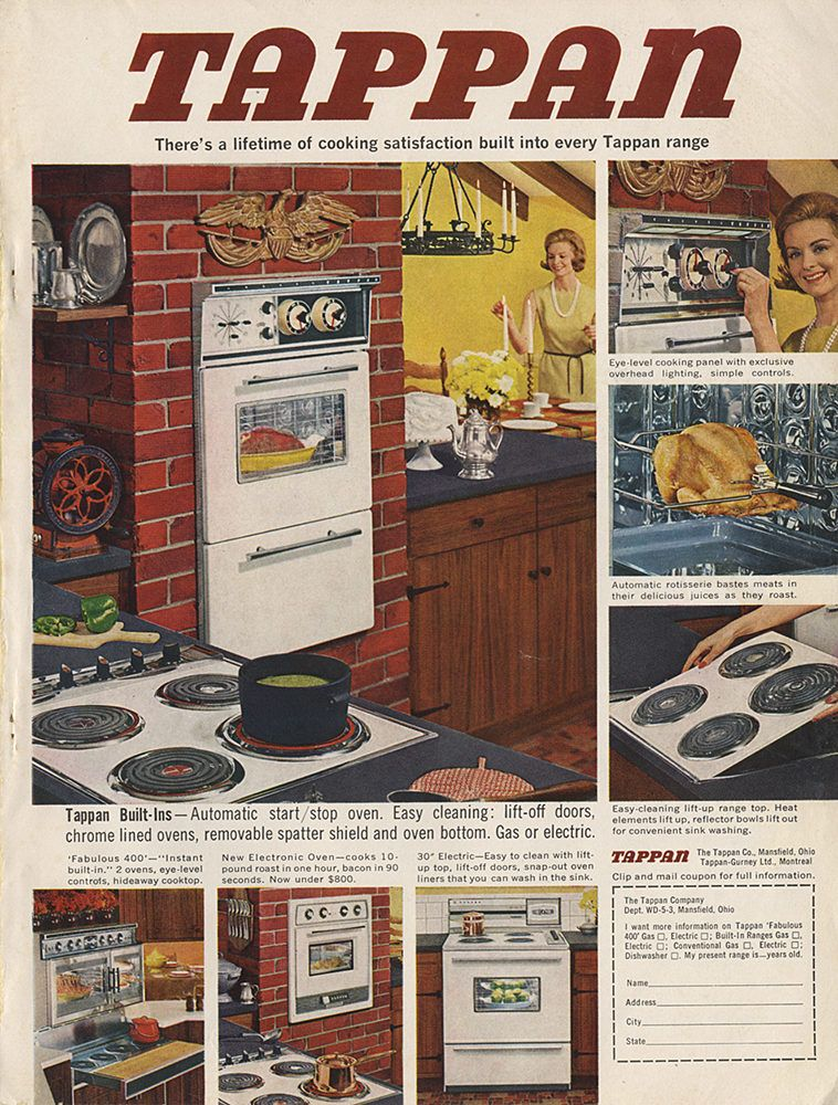 Tappan Built In Automatic Start Stop Oven Oven Appliance Tappan Wall Oven