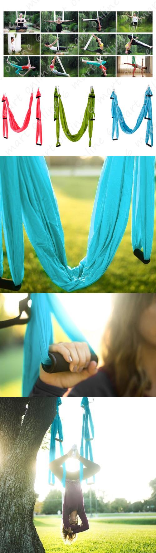 Yoga props anti gravity yoga swing sling hammock trapeze for