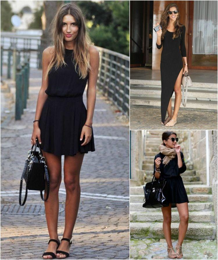 10c25daf0 Como usar - Vestido preto e acessórios
