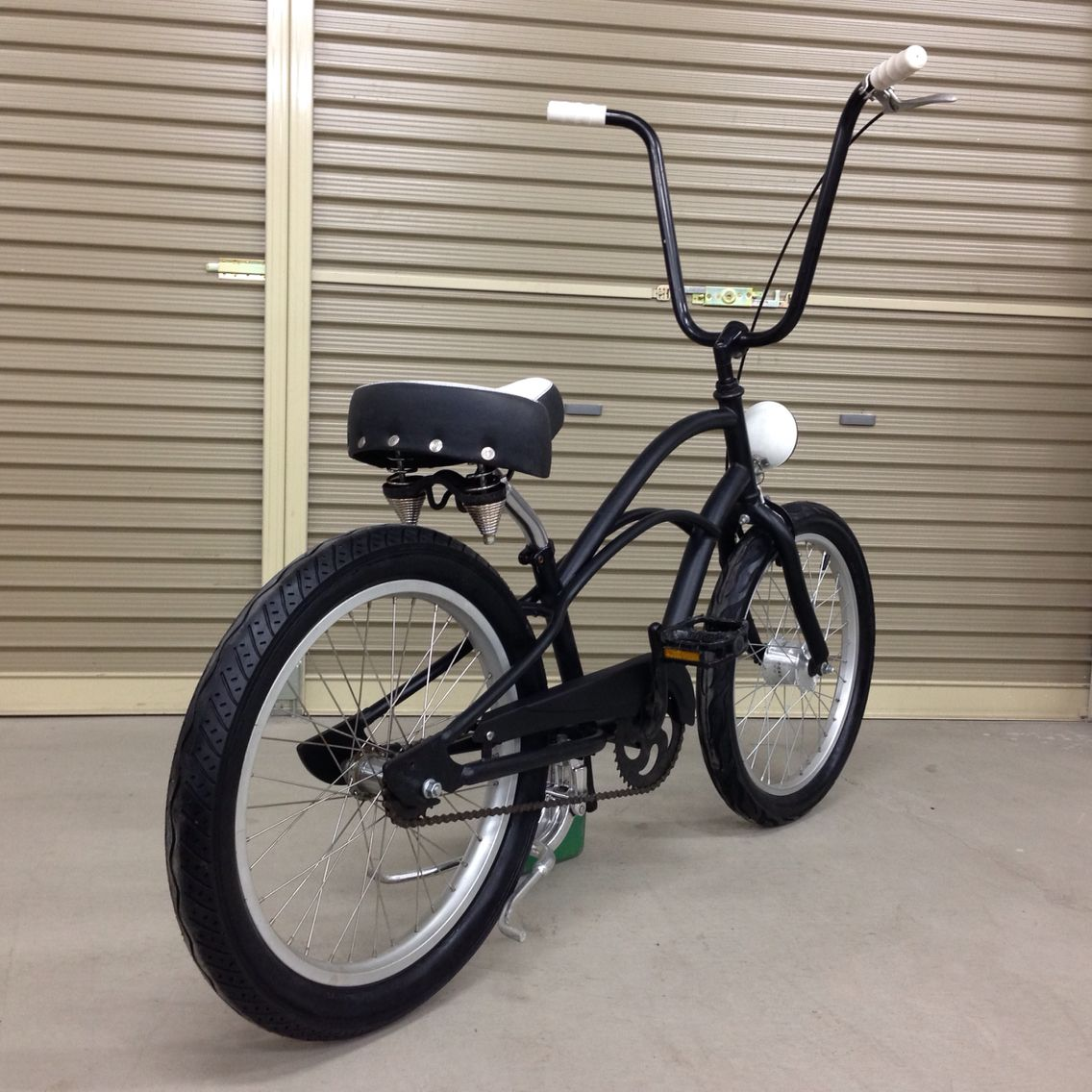 Bicycle Mx Brake Rear Alloy White Lowrider MTB BMX Cruiser Chopper Bike Cycling