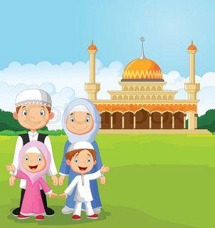 Gambar Family Cartoon