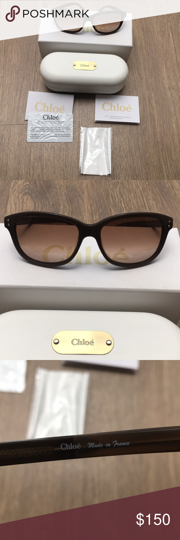 436aa94af931 I just added this listing on Poshmark  Chloe Brunelle Sunglasses.   shopmycloset  poshmark  fashion  shopping  style  forsale  Chloe   Accessories