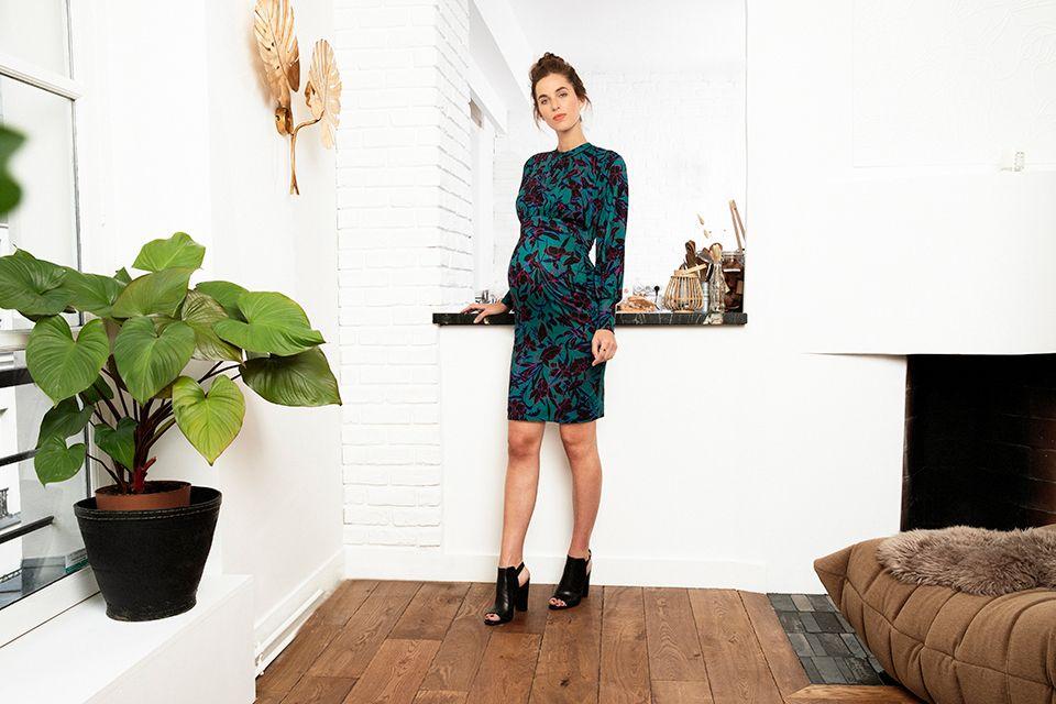 cabb5b0103c21 Envie de Fraise // Collection AH 2019 -ROSELINE LS - #Dress #MaternityStyle