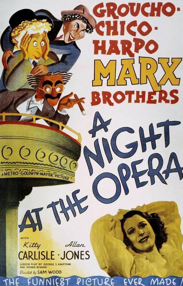 Cartel (Una Noche en la Ópera)