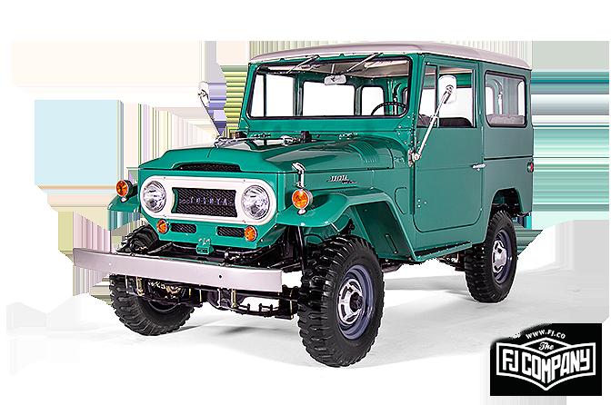 Toyota Land Cruiser FJ40 4 Wheel Drive Fleece Blanket Dark Green