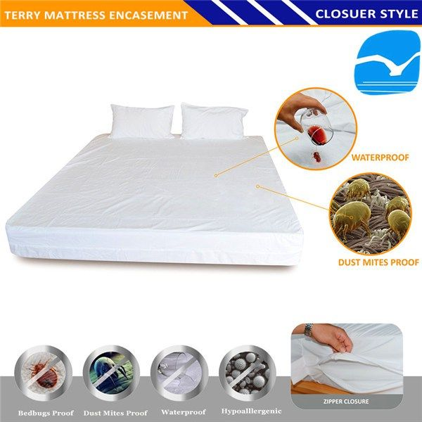 Amazon Best Selling Terry Cloth Waterproof Breathable Fabric For Mattress Protector In Northwest Terr Crib Mattress Protector Baby Mattress Waterproof Mattress