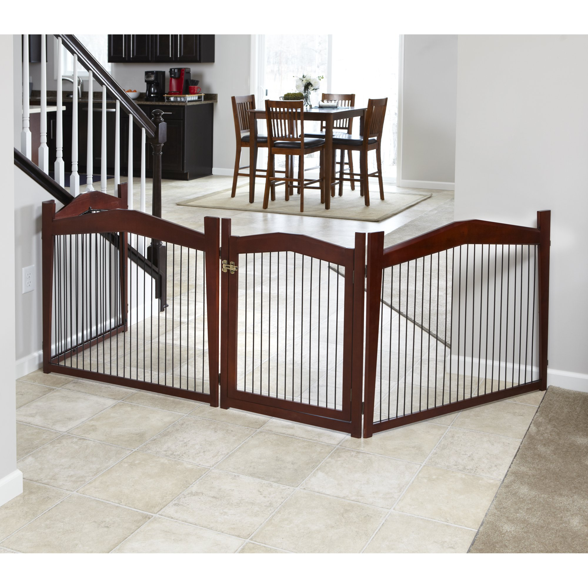 Merry products 2in1 configurable pet crate and gate 40