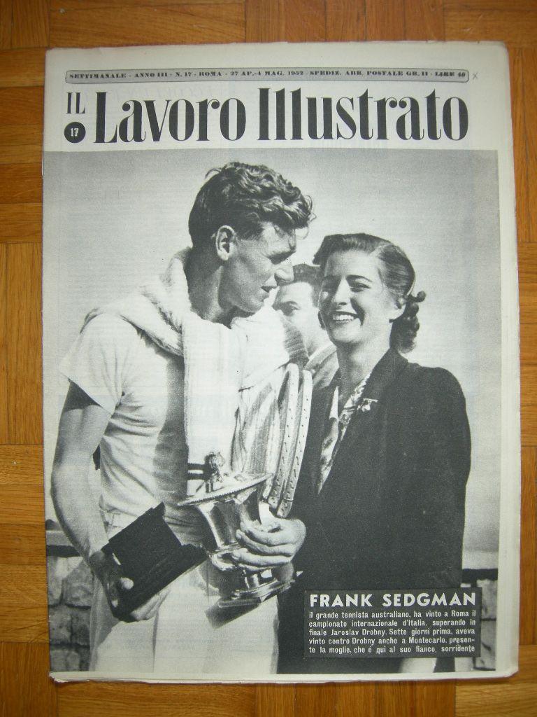 Frank Sedgman magazine Giornali Magazines