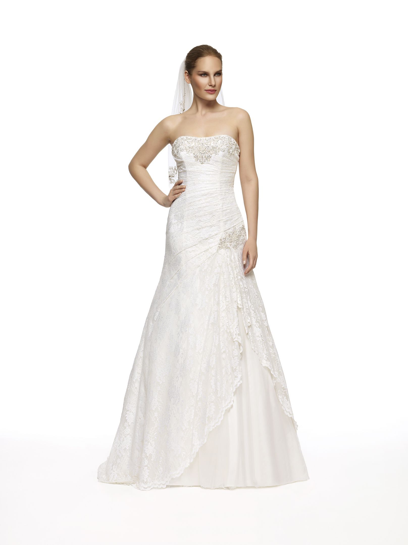 Oleg Cassini Bridal Gown Looks Like David S Bridal Yp3344
