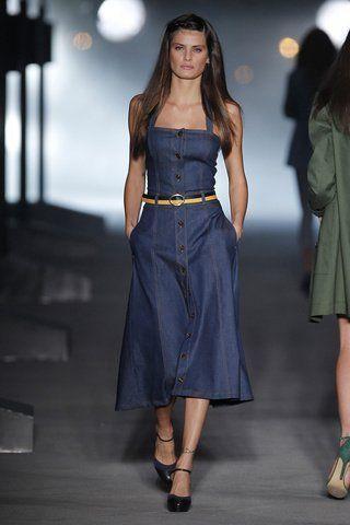 Imagenes de vestidos de jeans largos